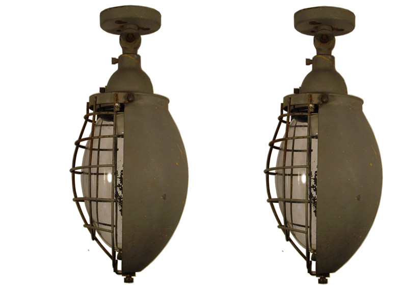 A pair of Giuseppe Ostuni external lamps for O'luce