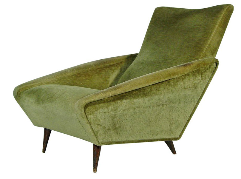 Gio Ponti 'Distex' lounge chair for Cassina