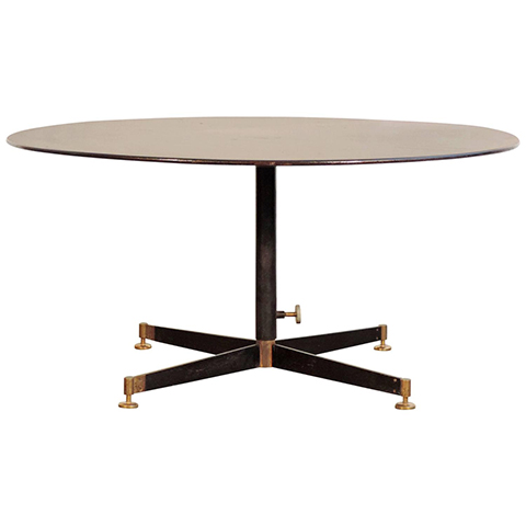 Ignazio Gardela 'T5' Adjustable low/dining table for Azucena
