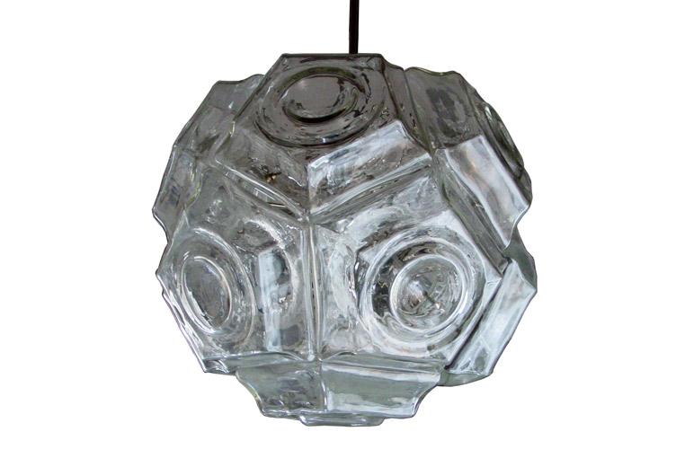 Large Salviati ceiling lamp