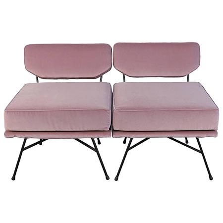 Studio BBPR 'Elettra' lounge chairs for Arflex