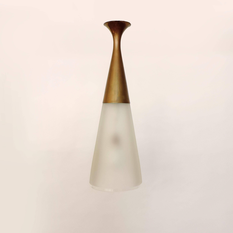 Max Ingrand ceiling light for Fontana Arte - SG Gallery Milano