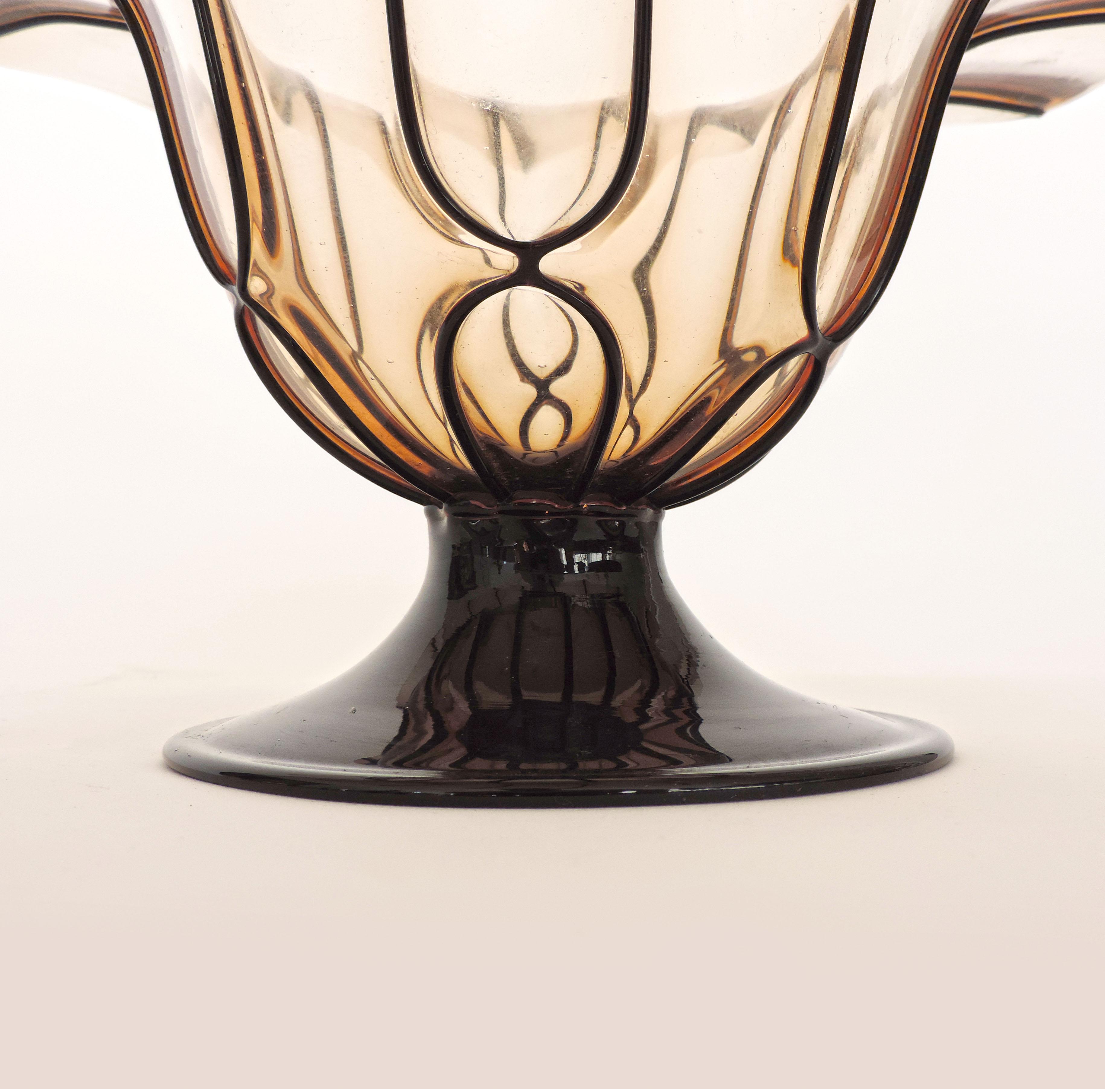 Large Pauly Murano Glass Vase