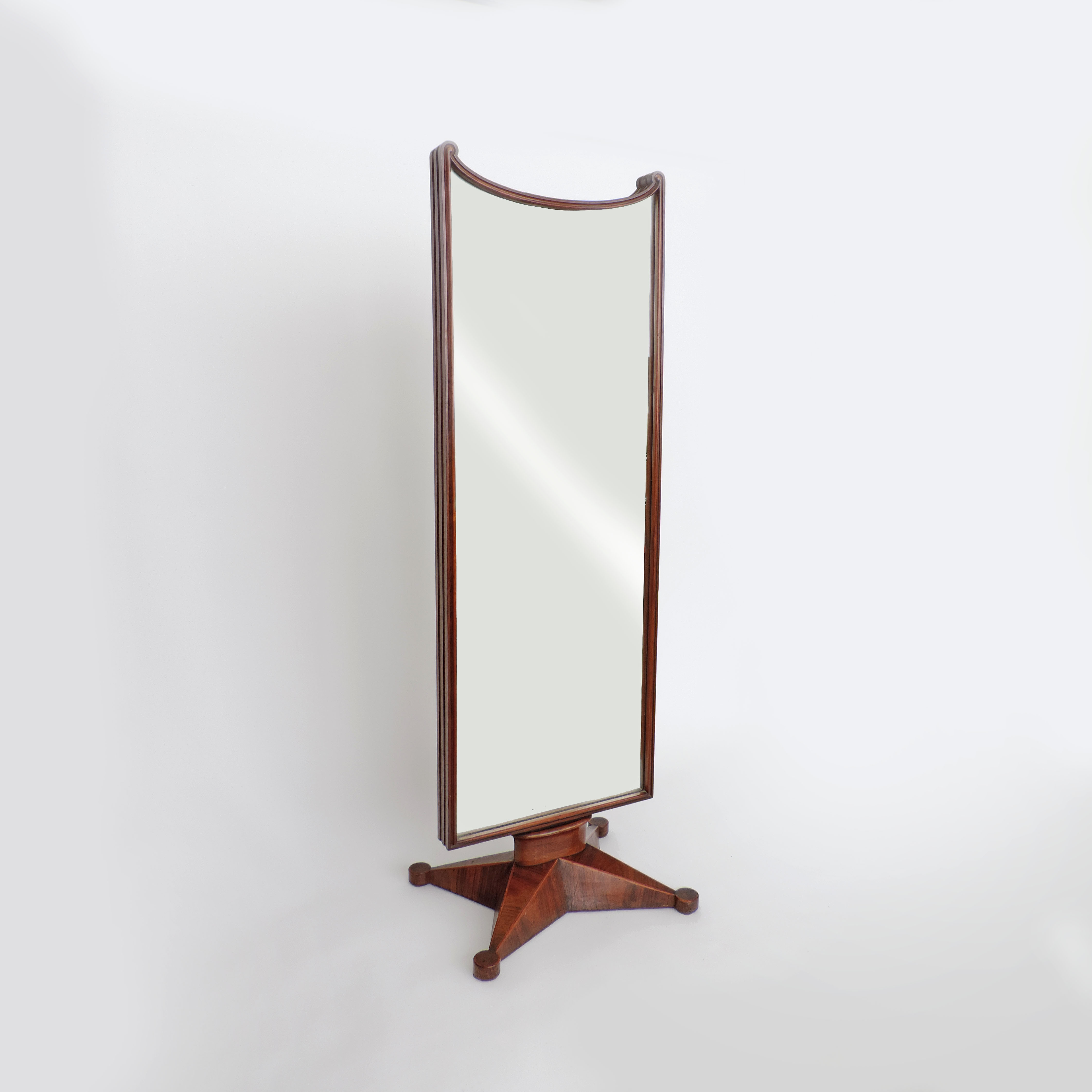 Gio Ponti Art Deco Floor Mirror