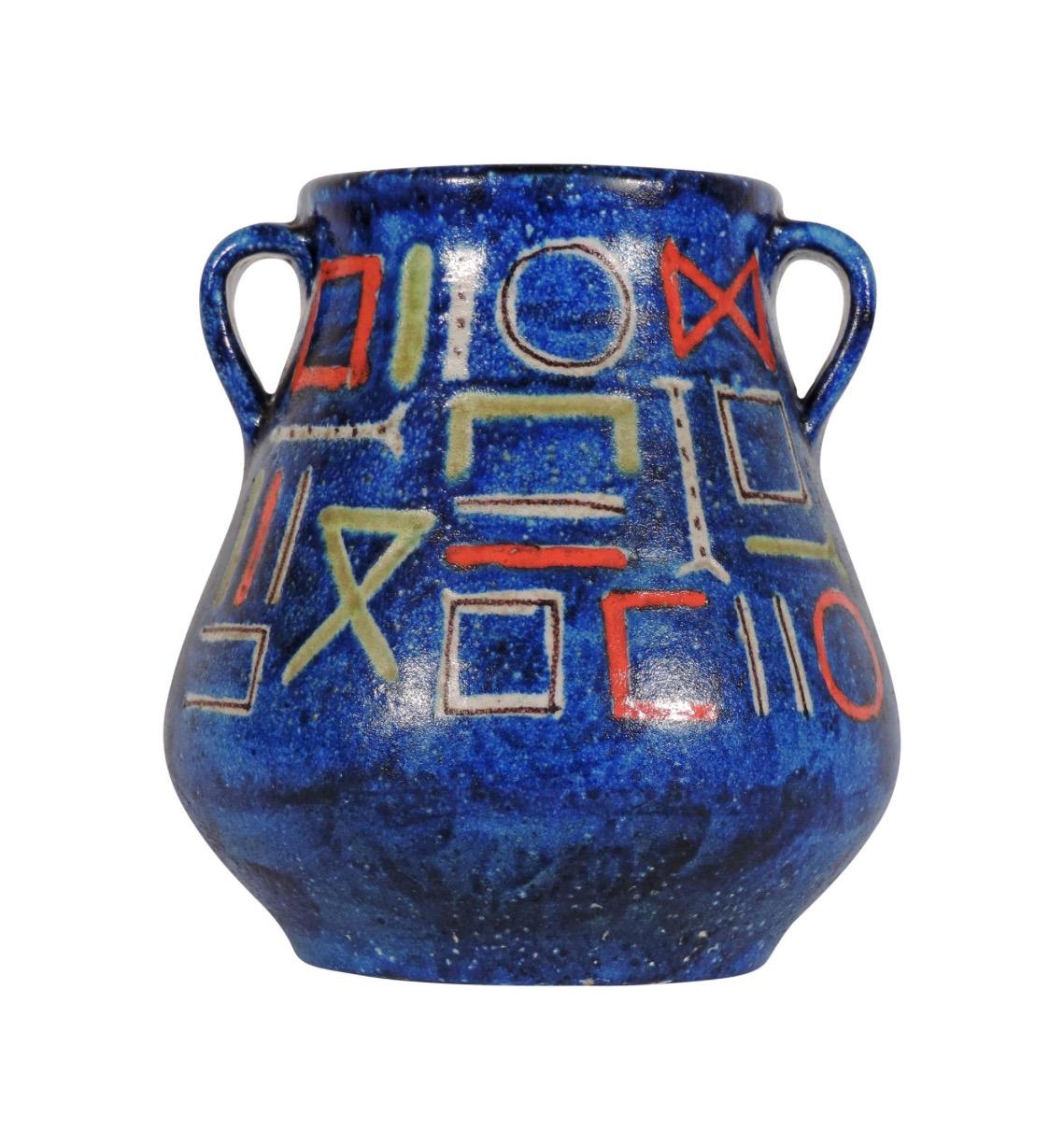 Guido Gambone ceramic vase