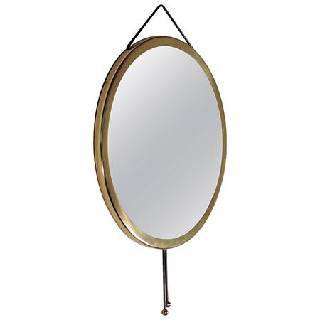 Corrado Corradi dell'Acqua 'Vipera' wall mirror for Azucena
